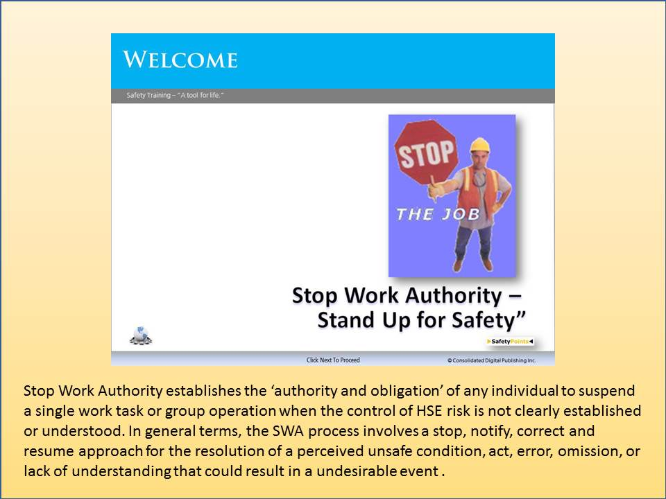 Scorm Stop Work Course Safetypoints Content Depot